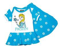 Body Fantasia 100 Algodão Frozen - Bebê