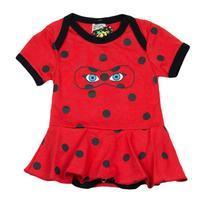 Body Fantasia 100 Algodão Ladybug - Bebê
