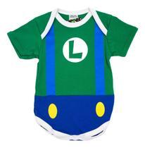 Body Fantasia 100 Algodão Luigi - Bebê