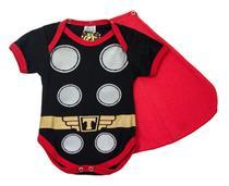 Body Fantasia 100% Algodão Thor - Bebê