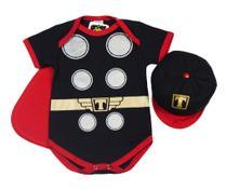 Body Fantasia Acessório 100 Algodão Thor - Bebê