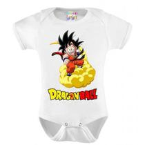Body Infantil Personalizado Goku Dragon Ball - Do re mi bebê