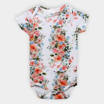 Body Infantil Up Baby Estampa Floral -