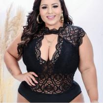 Body Plus Size de Renda - Nanda Fashion Boutique