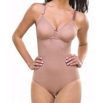 Body Redutor Sem Bojo Princesa Catarina Cinta Modeladora Ref 022 -