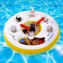 Boia Bar Cooler Inflavel Flutuante C/ Porta Latas - Nautika