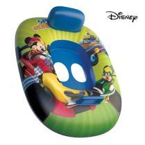 Boia Bote Com Fralda Inflável Mikey Disney Verão Sol Piscina 66x54cm - Etilux