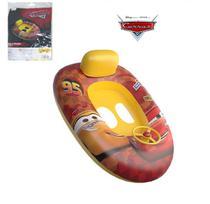 Boia bote inflável infantil fralda com encosto e volante carros - Etitoys