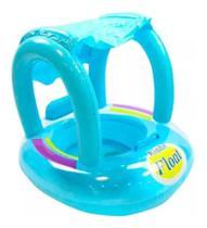 Boia Bote para Bebê com Cobertura Fralda Infantil Inflável Briquedo - Emporio Magazine