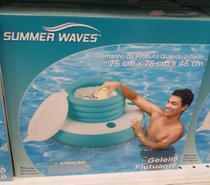 Boia Cooler geleira aquática inflável flutuante - Summer Wave