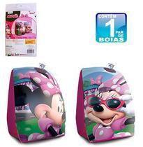 Boia de Braço Minnie Inflável Infantil Disney - Wellmix