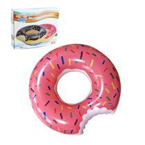 Boia De Rosquinha Gigante Inflavel Donut Comprar 120cm - Wellmix