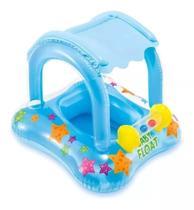 Bóia Infantil Baby Bote Kiddie com Cobertura - Intex