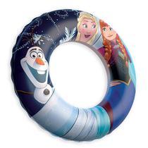 Boia Infantil Inflável Circular - Frozen - 56 cm - Etilux -