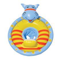 Boia Infantil Inflável com Fralda Dinossauro Azul - Wellmix