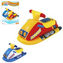 Boia inflavel modelo jet ski scooter colors 91x51cm summer fun - Wellmix
