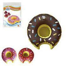 Boia Inflável Porta Copos 17,5cm Donuts/Frutas - 129698 - Wellmix