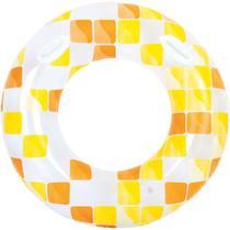 Boia Inflavel Redonda Mosaico 120CM. - Jilong