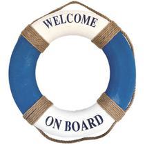 Boia Nautica Decorativa Welcome On Board - Malu