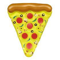 Boia Pizza Inflável Grande Para Piscina 175cm x 130cm x 40cm Barcelona -