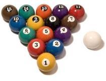 Bola 50mm Numerada Sinuca Bilhar Snooker ( Melhor Nacional ) - Tacolandia