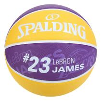 Bola Basquete NBA Los Angeles Lakers Spalding Lebron James 23 -