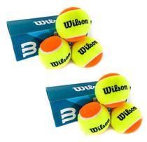 Bola Beach Tennis Wilson Tour Premier Kit c/ 6 Bolas -