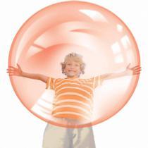 Bola big bolhão dtc bolha colorida vermelho acompanha  bomba de ar -