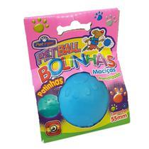 Bola Borracha Maciça Para Cães Pequenos E Médios Pet Ball - Pet Injet