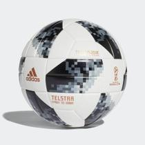 Bola Campo Adidas Copa Do Mundo Telstar 18 Top Replique + Caixa