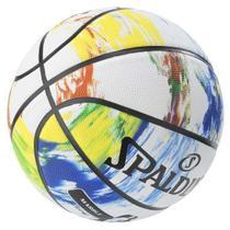 Bola de Basquete NBA Spalding Marble Series Rainbow Tam 7 -