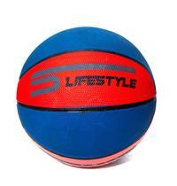 Bola de Basquete Oficial Basketball Borracha Lifesyle Vazia Vermelha Azul - Lifesytele
