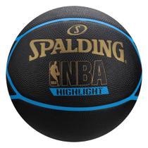 Bola De Basquete Spalding Highlight - Borracha -