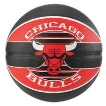 Bola de Basquete Spalding NBA Chicago Bulls Team Rubber Basketball Tam 7 -