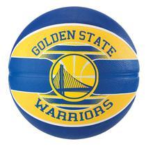Bola de Basquete Spalding NBA Golden State Warriors Team Rubber Basketball Tam 7 -