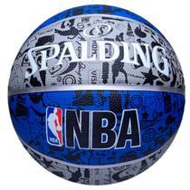Bola de Basquete Spalding NBA Graffiti Borracha - Tamanho 7 -