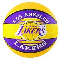 Bola de Basquete Spalding NBA Los Angeles Lakers Team Rubber Basketball Tam 7 -