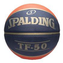 Bola de Basquete Spalding - TF-50 CBB - Borracha - Laranja/Preto (06) -