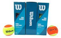 Bola De Beach Tênis Wilson Tour Premier Pack com 03 Caixas -