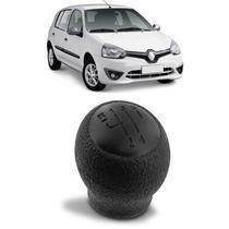 Bola de Câmbio Manopla Clio Hatch 2000 a 2016 Clio Sedan 2000 a 2009 Preto 5 Marchas - Nat