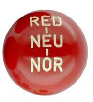 Bola de câmbio red-neu-nor vermelha jeep rural f75 com indicação - Casa aventura