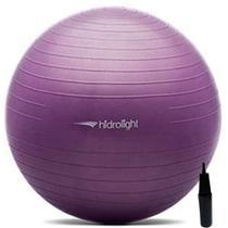 Bola De Exercícios Pilates Hidrolight Com Bomba 45cm -