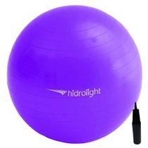 Bola De Exercícios Pilates Hidrolight Com Bomba 65cm -