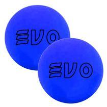 Bola De Frescobol Evo Azul Kit 2 Unidades -
