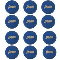 Bola De Frescobol Penn Azul Kit 12 Unidades -