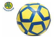 Bola De Futebol Amarelo E Azul Dtc -