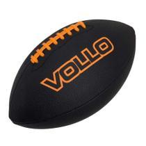 Bola de Futebol Americano Vollo Oficial 9 (Preto) -