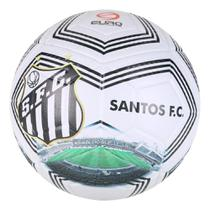 Bola de Futebol Campo Euro Fusion 3D Santos Estadio 2021 -