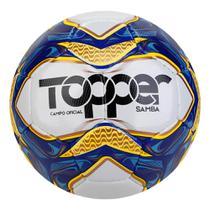 Bola de Futebol Campo Topper Samba Costurada -