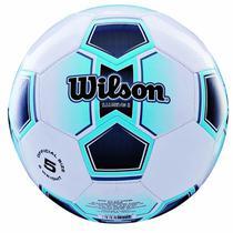 Bola de Futebol de Campo Illusive N.5 + Bomba de Ar Azul Wilson 37623db4137d0